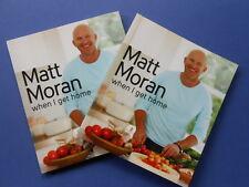 ## MATT MORAN'S WHEN I GET HOME - MATT MORAN **AS NEW