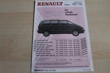 86053) Renault Espace J11 - Preise & technische Daten & Ausstattungen - Prospekt