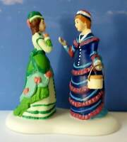 DEPT 56 Dickens Village NEW HATS FOR THE JUBILEE!  Beautiful!