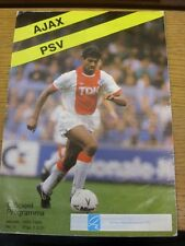 09/10/1988 Ajax v PSV Eindhoven  (creased). Thanks for viewing our item, buy wit