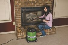 Fireplace Pit Ash Vacuum Cleaner Wood Stove  Metal Canister Pellet BBQ Filter