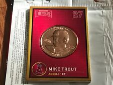 2018 BASEBALL TREASURE COIN Mike Trout