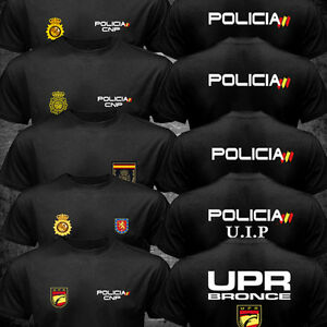 New Spain National Police Espana Policia CNP UIP UPR anti riot Force T-shirt