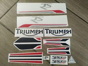Stickers Decals Triumph Speed Triple 1050 RS 2016 set kit