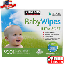 Kirkland Signature Baby Wipes 900-count New