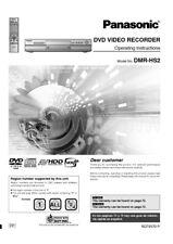 Panasonic DMR-HS2 DVD Recorder Owners Instruction Manual