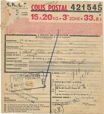 5 bulletins d'expédition. de Colis postaux  - ( BX ) -  25-05-20