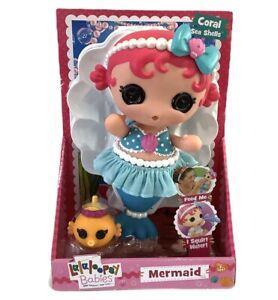 Lalaloopsy Babies Doll MERMAID - Coral Sea Shells - Baby Doll Pretend Play NEW