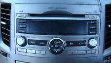SUBARU LIBERTY RADIO/CD PLAYER WITH IN DASH STACKER, 5TH GEN, 09/09-11/14