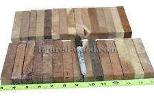 MIX BURLS PENBLANKS,TOOL HANDLES,WOOD CARVING,CRAFTS#0245 - PLEASE SEE PICTURE