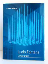 FRIEDEL. Lucio Fontana La Fine di Dio. Nature. Cubo di Luce 1998-99 /German book