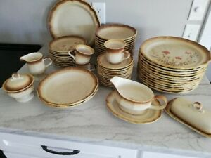 Mikasa Jardiniere Whole Wheat Dishes