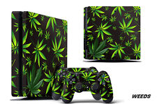 Skin Decal Wrap For PS4 Slim Playstation 4 SLIM Console + Controller Stickers WD