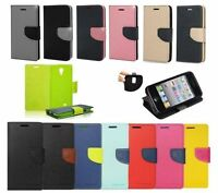 ^ Book Case Fancy Hülle Handy Cover Flip Klapp Tasche  Etui Flip Lenovo K6 Note