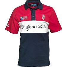 Official ER England Script Rugby World Cup 2015 S/S Rugby Shirt Jersey M BNWT