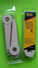 Oregon x24 poly cut fingers blades fit STIHL & Other replaces 4111-007-1001