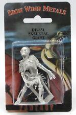 Ral Partha DF-651 Skeletal Giant (1) 25mm Miniature Undead Skeleton Warrior NIB