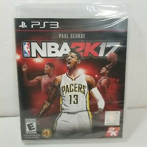BRAND NEW! - NBA 2K17 (Sony PlayStation 3, 2016) PS3 - FACTORY SEALED! - NEW