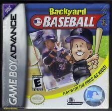 GBA Backyard Baseball (2002) Brand New & Nintendo Factory Sealed