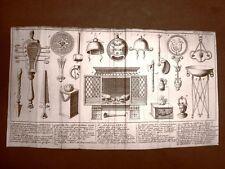 Antiqua sacrificialia Settecentina del 1702 Nouveau voyage d'Italie, Misson