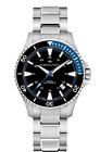 New Hamilton Khaki Navy Scuba Auto ST Steel Black Dial Men's Watch H82315131
