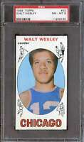1969-70 TOPPS #22 WALT WESLEY PSA 8 BULLS  *K4827