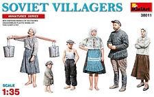 MiniArt 1/35 38011 Soviet Villagers '30s-'40s (Miniatures Series) (6 Figures)