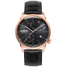 Relojes de pulsera con fecha automática de oro rosa