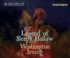 The Legend of Sleepy Hollow by Washington Irving (2014, MP3 CD, Unabridged)