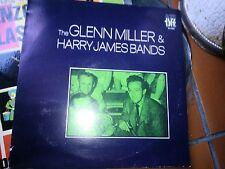 """LP 12"""" THE GLENN MILLER & HARRY JAMES BANDS SERIE JAZZ LIVE COVER EX+ VINYL N/M"""