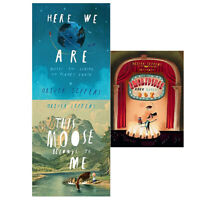 Oliver Jeffers Collection 3 Books Collection Set (Incredible,Here We Are,Moose)