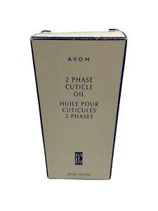 Avon 2 Phase Cuticle Oil 1 fl oz NEW! NIB! NOS!