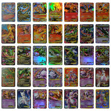 35pcs Pokemon EX cards TCG Charizard Rayquaza Mewtwo Shinny cards toys for Kid