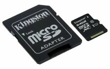 Kingston Sdcs/64gb MicroSD Card 64 GB Uhs-i Class 10 for HP HTC