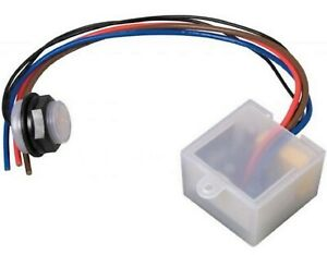 Photocell 2 Part Electronic Remote 20mm Auto switch dusk till dawn sensor IP65