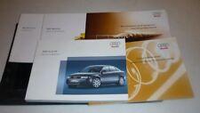 2005 AUDI A4 SEDAN OWNERS MANUAL SET 05 GUIDE w/case 1.8T 2.0T 3.0 V6
