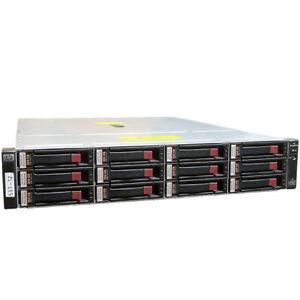 HP StorageWorks EVA4400 AG638A Storage Array Shelf, 10x 146Gb, 2x 450Gb 2x Ctrls