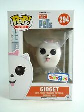 Funko Pop! Gidget - Toys R Us - TRU Exclusive - Secret life of Pets Vinyl Figure