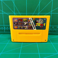 Super 70 In 1 Game Cartridge 16-Bit Multi cart EUR-PAL SNES For Super Nintendo