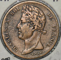 French Colonies 1825 A 5 Centimes  290022 combine shipping