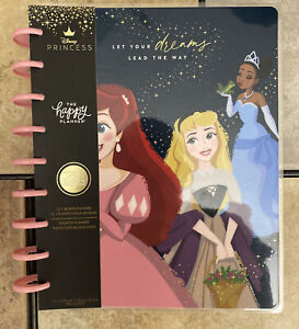 "NEW! Happy Planner Disney Princess ""DREAMS WILL LEAD YOU"" Classic Undated Plnr"