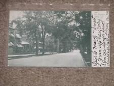 Ellis Residence Union St., Schenectady, N.Y., 1906, used vintage card