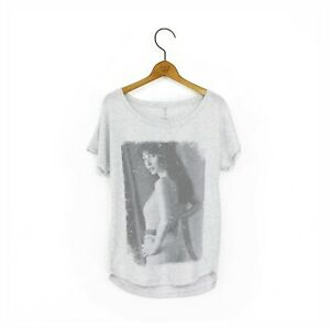 Women's 'Kate Bush' Vintage-Style 1980's Print T-Shirt