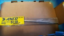 """Anco Ten-Edge 18"""" Heavy Duty Stainless Steel Flat Wiper Blade Made in USA 51-18"""