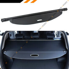 For 2017-2018 Hyundai Santa Fe Sport Retractable Cargo Cover Luggage Shade Black