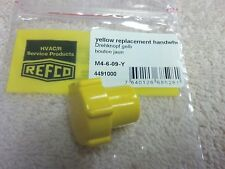 REFCO, 3 & 4-WAY refco manifolds, Replacement Knob, YELLOW, M4-6-09-Y