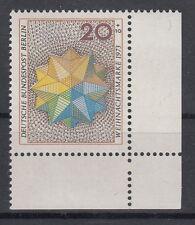 20+10 pf navidad 1973 im 463 forma número 0a+r11s2 wohlfahrtszähnung lujo!