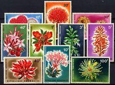 Rwanda 1966 SG#148-157 Flowers MNH Set #D58749