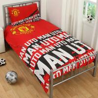 Manchester United  Impact Single Duvet Set