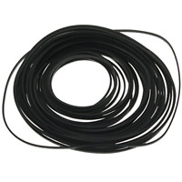 Square Rubber Drive Belt For Cassette Player Recorder Repair Replacement New